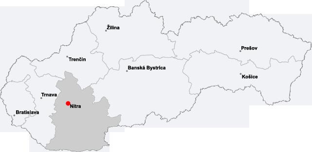 Mapo de Slovakio