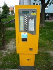 A vending machine in Bratislava