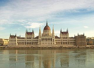 La parlamento de Budapeŝto